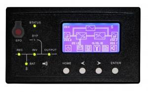 display UPS gruppo statico di continuità Gtec NS3000