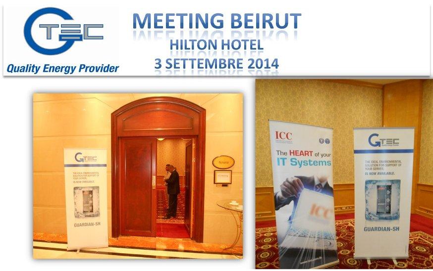 Meeting Beirut – Inaugurazione della collaborazione Gtec – ICC