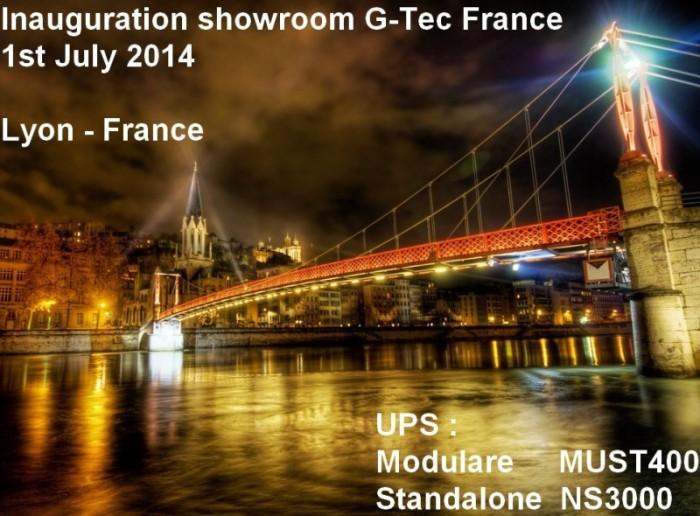 Gtec France Showroom Inauguration