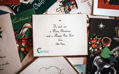 GTEC vi augura buon Natale e felice anno nuovo!