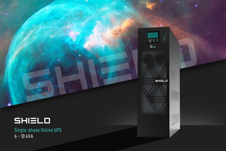 Find out SHIELD: the best evolution for single-phase online UPS