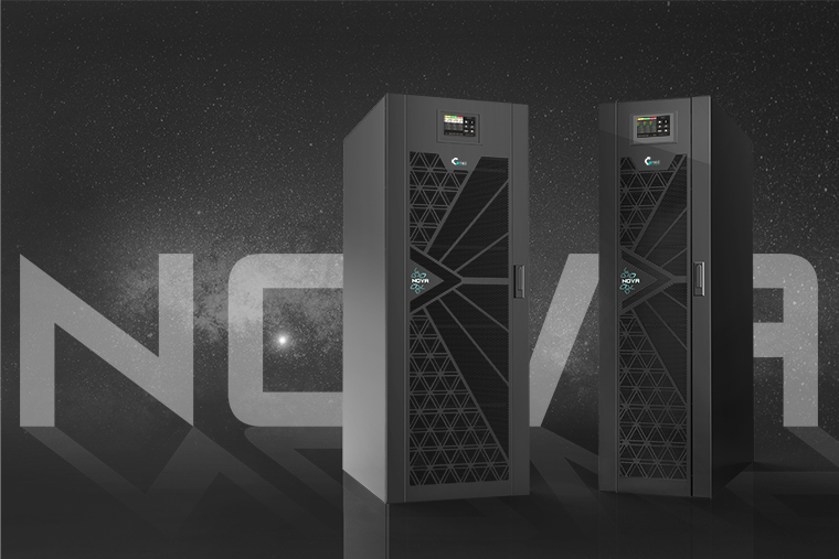 NOVA has landed: the top of the range three-phase UPS with internal batteries is now here